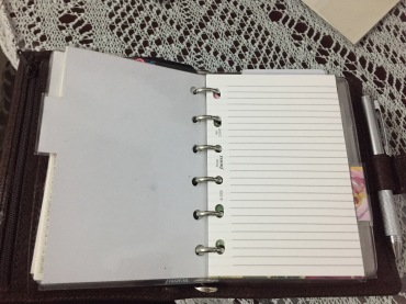 Blank note paper!